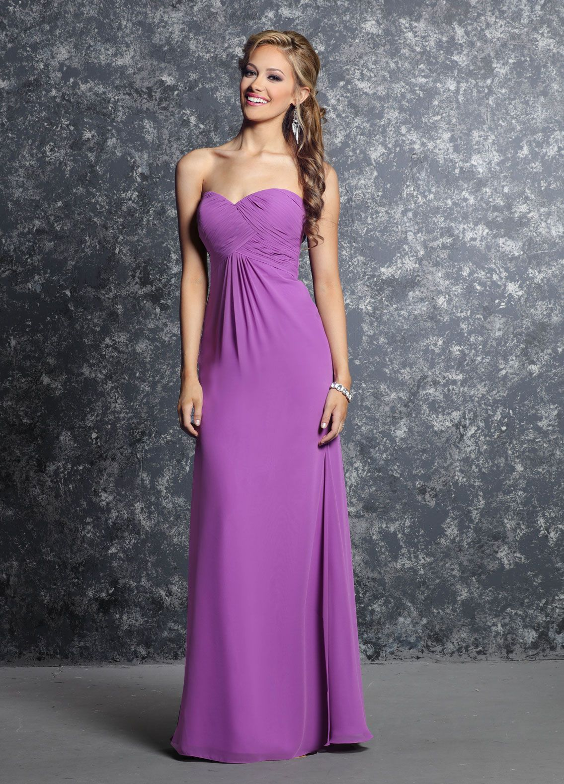 This classic bridesmaid dress is frequently a favorite among the ...