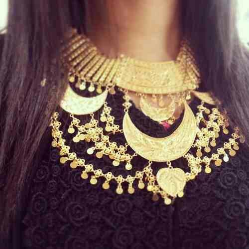 Beautiful arabian jewlery