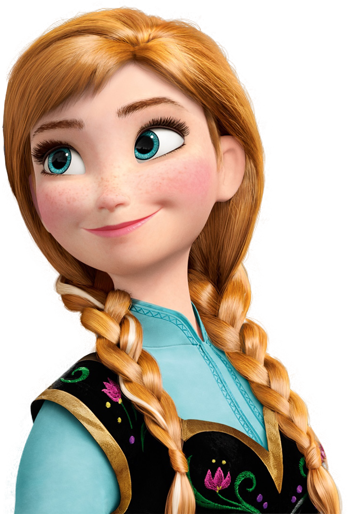 Some Transparent Frozen Characters PNG