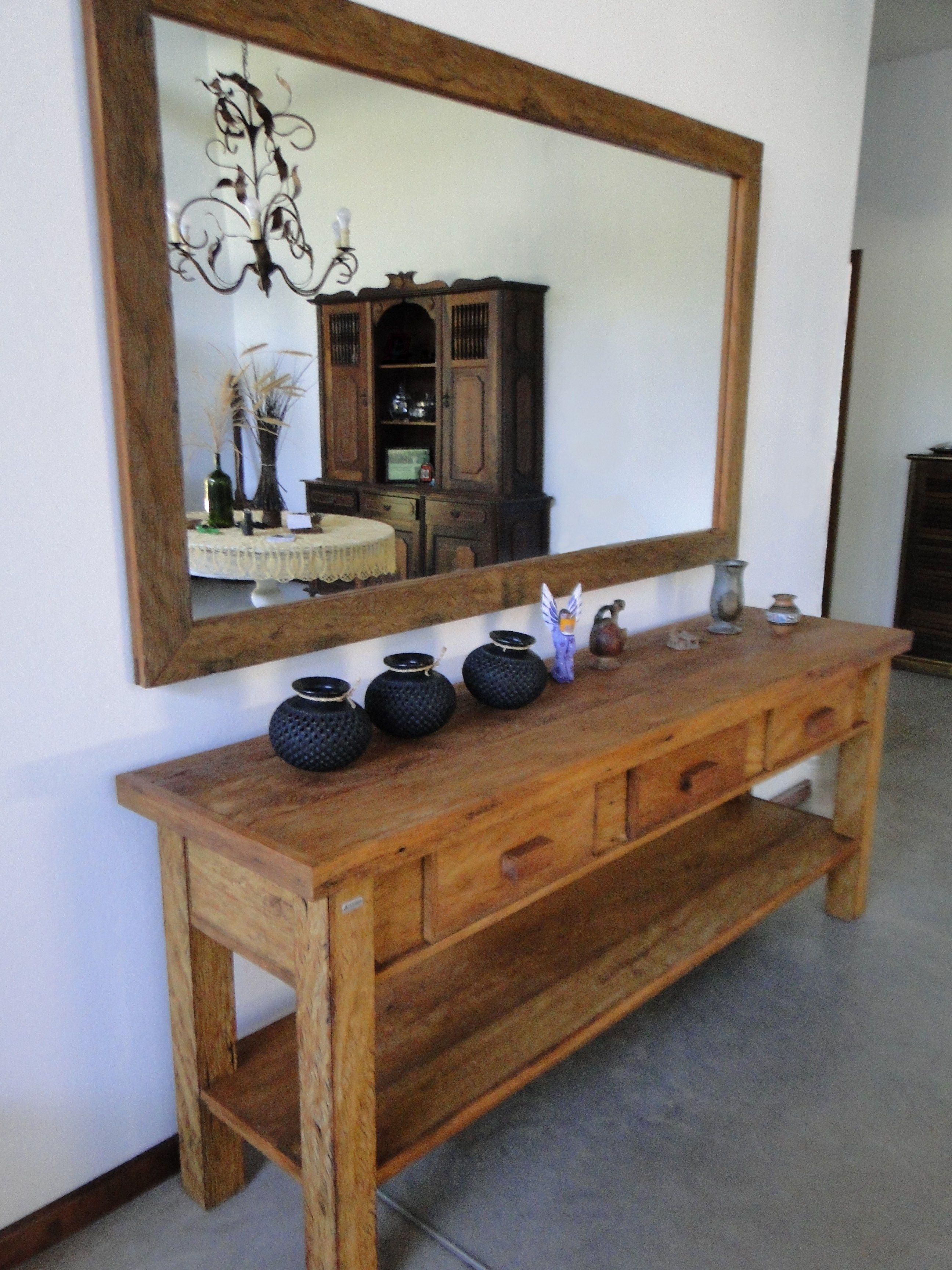 Armario Giratorio Definicion ~ aparador e espelho rustica area externa madeira maciça bela rústica belarustica Peroba Rosa de