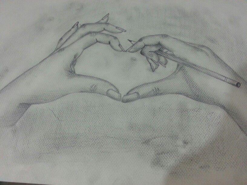 картинки карандашом про любовь