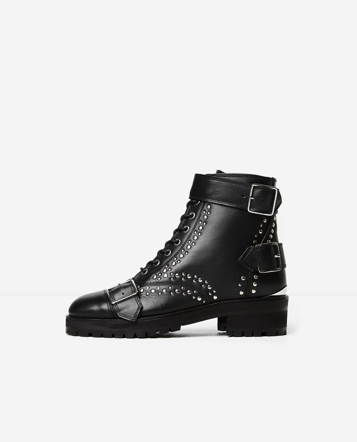 The Kooples BOOTS LONG SHOELACES - Lace-up boots - black uFiPkIp