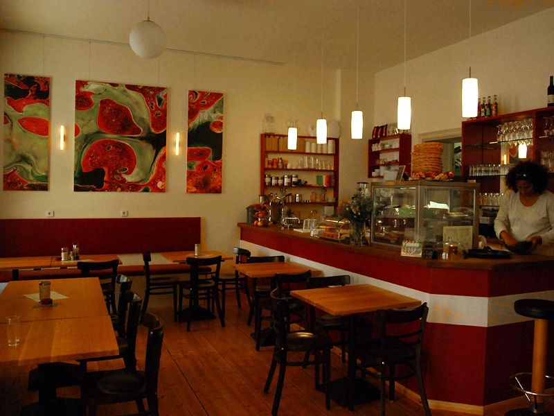 Vegetarian Restaurant Interior Design Of Manna