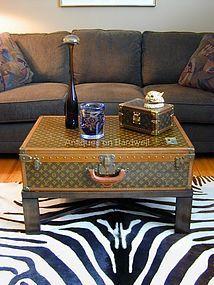 vintage Louis Vuitton coffee table Louis Vuitton Suitcase c356866678c3d