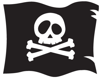 Make a pirate flag | garezurrak | Pinterest | Flags ...