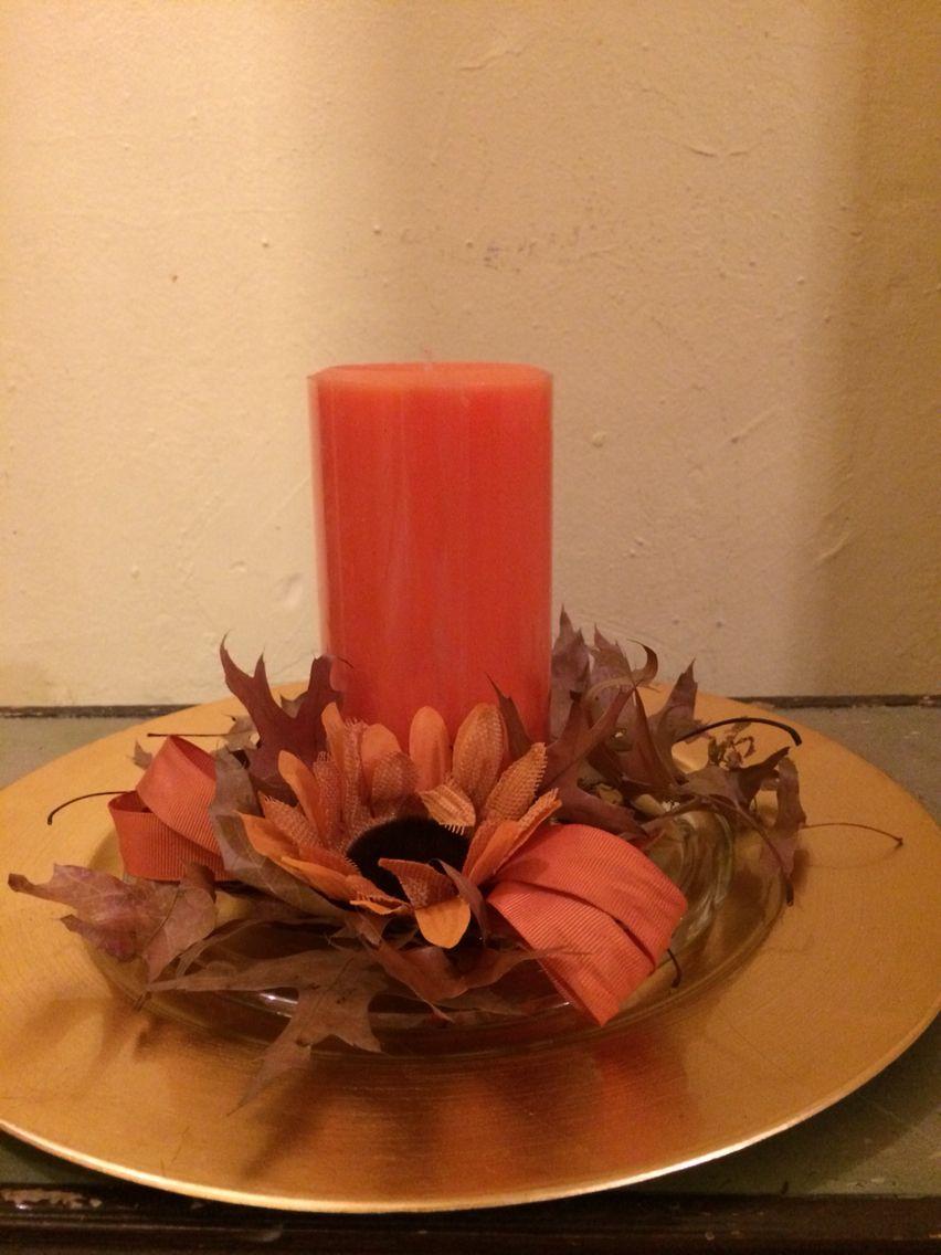 Centro de mesa para thanksgiving  Day