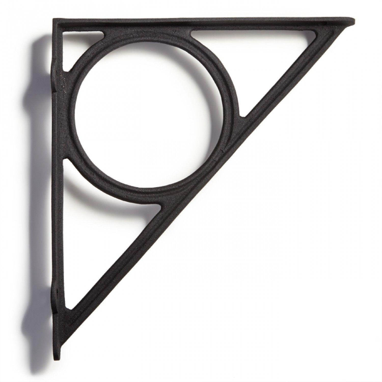 Encircle Cast Iron Shelf Bracket   Regale, Hardware und Regalstützen