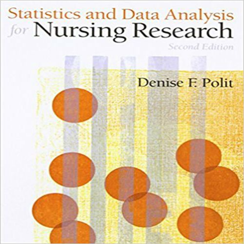 Statistics And Data Analysis For Nursing Research Nd Edition