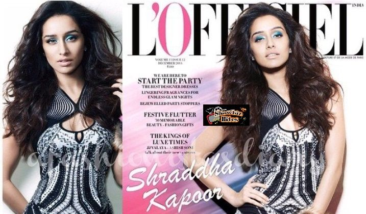 shraddha kapoor sizzles on loffeiel cover page...looks damn hot
