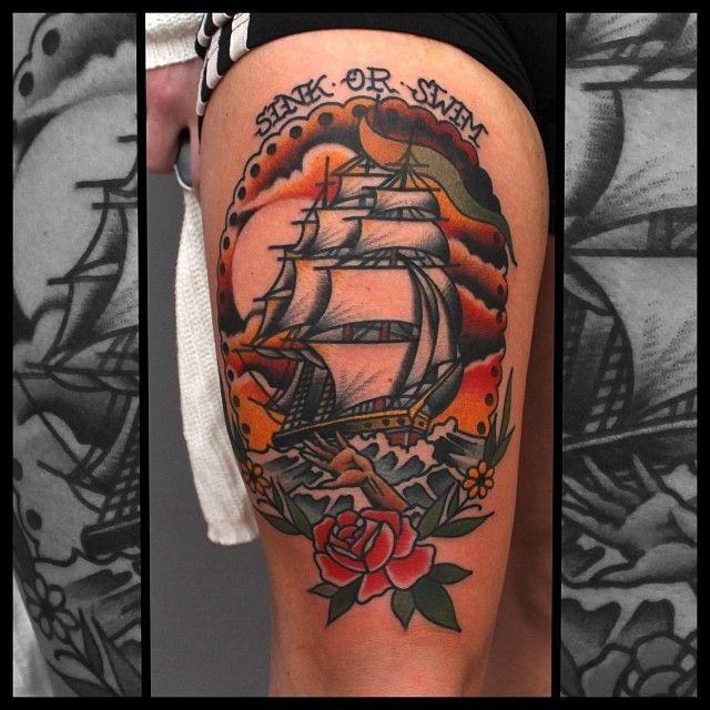 Tony Nilsson, Blue Arms Tattoo Oslo @tony_tox