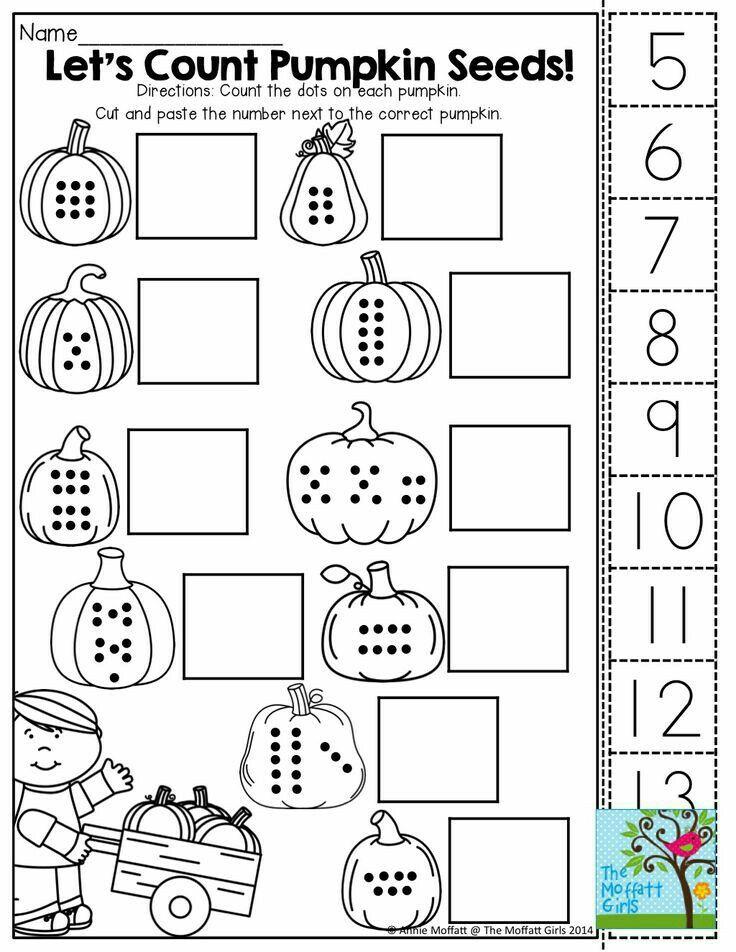 School Halloween Math Worksheets Halloween Kindergarten Halloween Worksheets