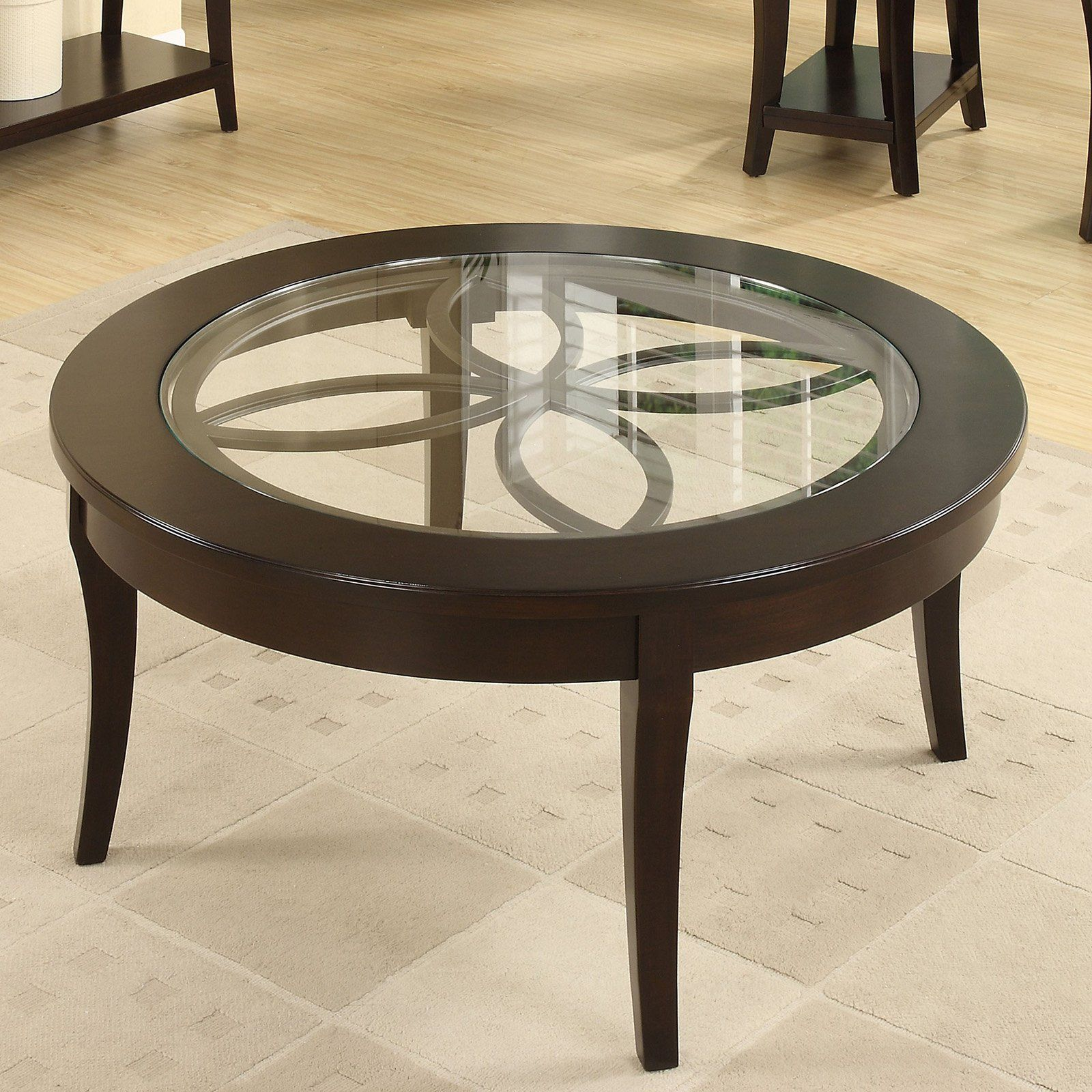 Riverside Annandale Round Cocktail Table Www Hayneedle Com Round Coffee Table Sets Coffee Table Square Wood Cocktail Table [ 1600 x 1600 Pixel ]