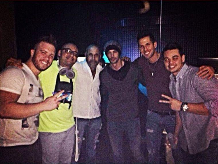 William Levy y amigos, noches de Miami