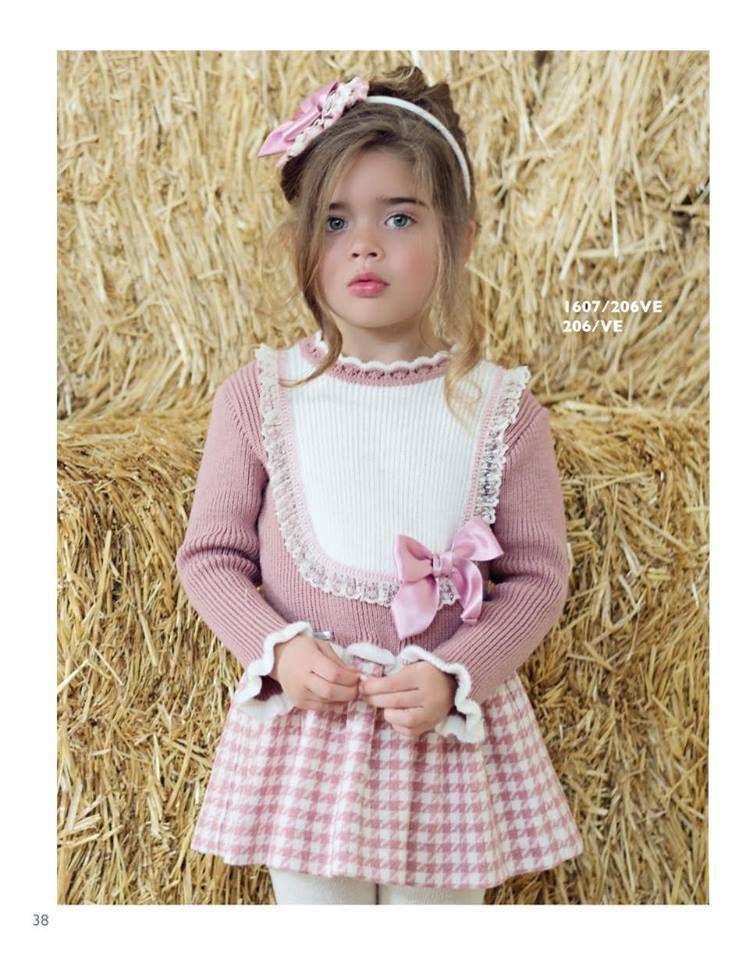 94119085b Vestido de niña MIRANDA www.modainfantilpequeplace.es Invierno 2015
