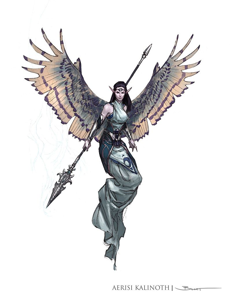 Avariel (5e Race) - D&D Wiki | elenn en 2019 | Ángeles y demonios