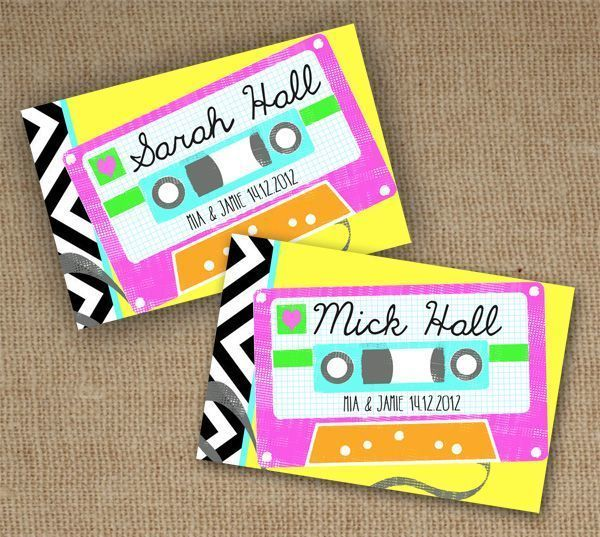 We Love 90s Wedding Details Wedding Details Wedding Themes