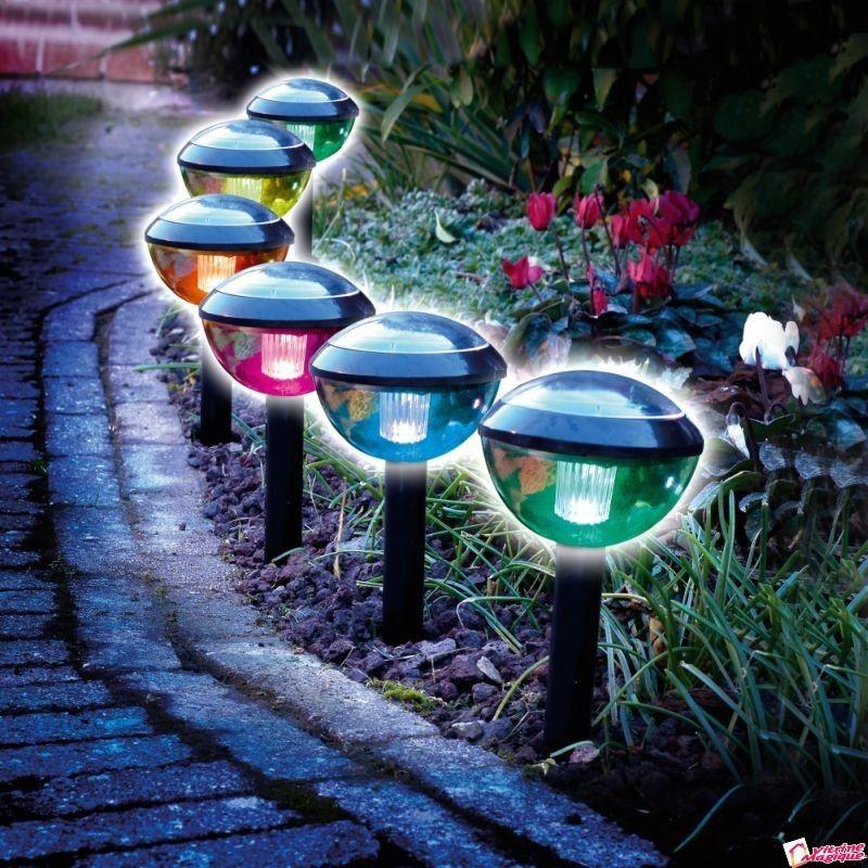 Set Lampi Solare.Set De 2 Lampi Solare Telecomanda Ofera 2 Feluri De Lumina