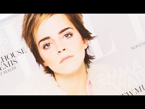 Emma Watson cover look