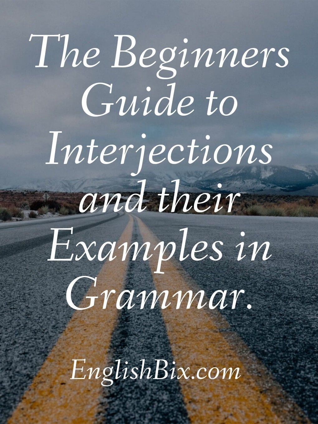 Interjection   A Complete Guide With Examples  U0026 Sentences