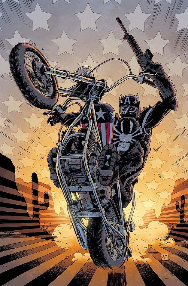 #Agent #Venom #Fan #Art. (Venom Vol.2 #10 Cover) By: Tony Moore & Dave Stewart. (THE * 5 * STÅR * ÅWARD * OF: * AW YEAH, IT'S MAJOR ÅWESOMENESS!!!™) ÅÅÅ+
