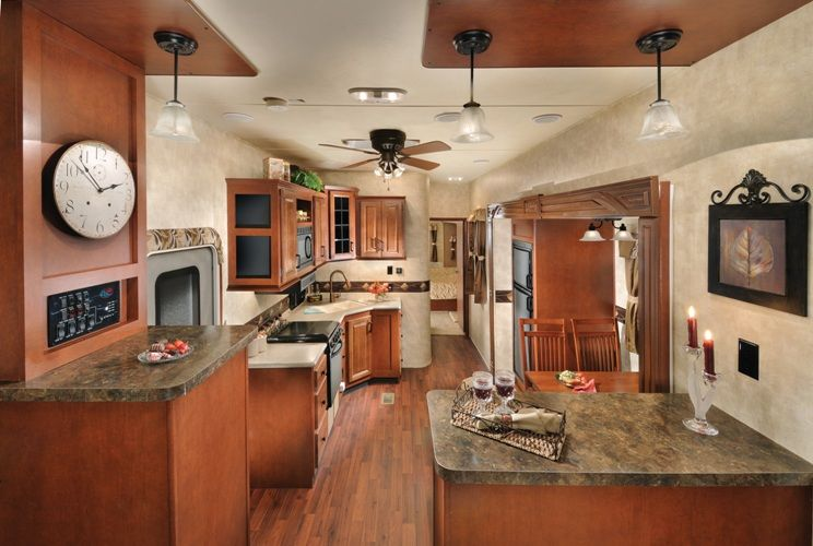 Inside a 5th wheel camper forest river sierra 366fl 5th - 2016 luxury front living room 5th wheel ...