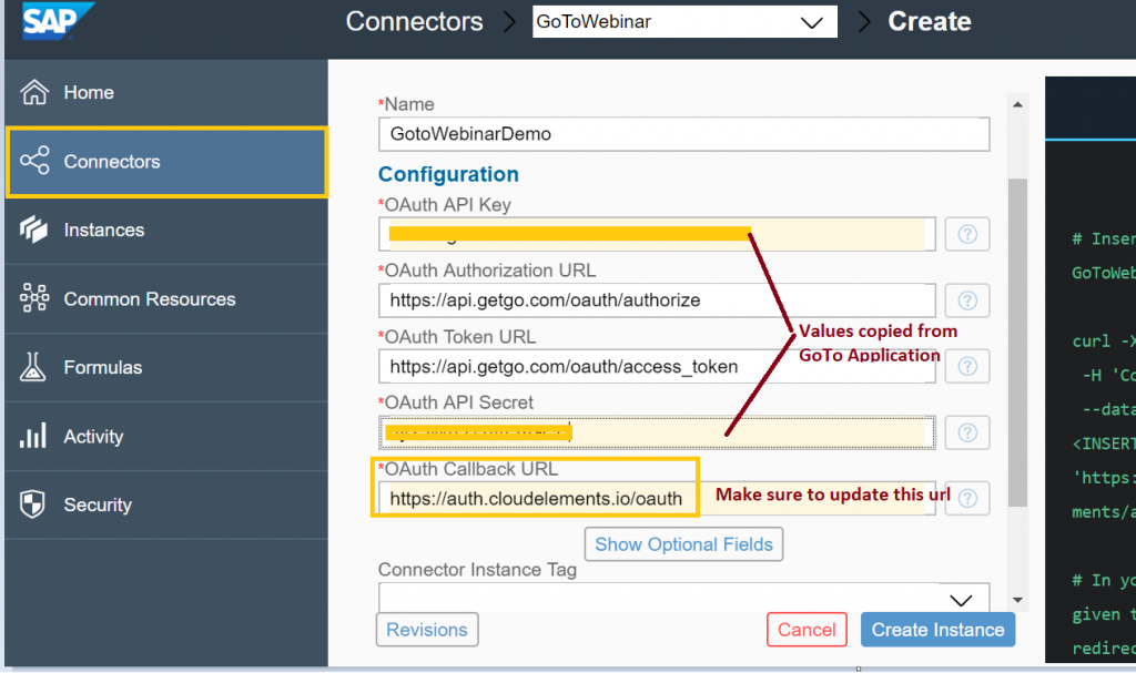 OpenConnectors-Goto Webinar Integration made simple with SAP
