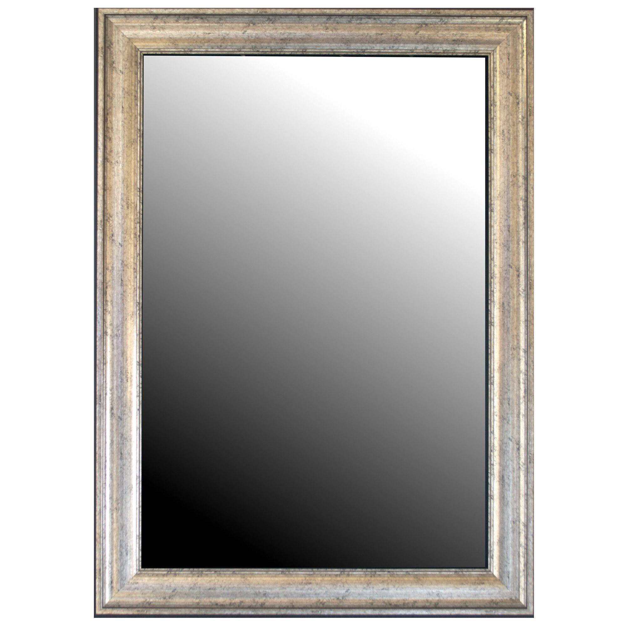 mirror inca silver framed wall mirror