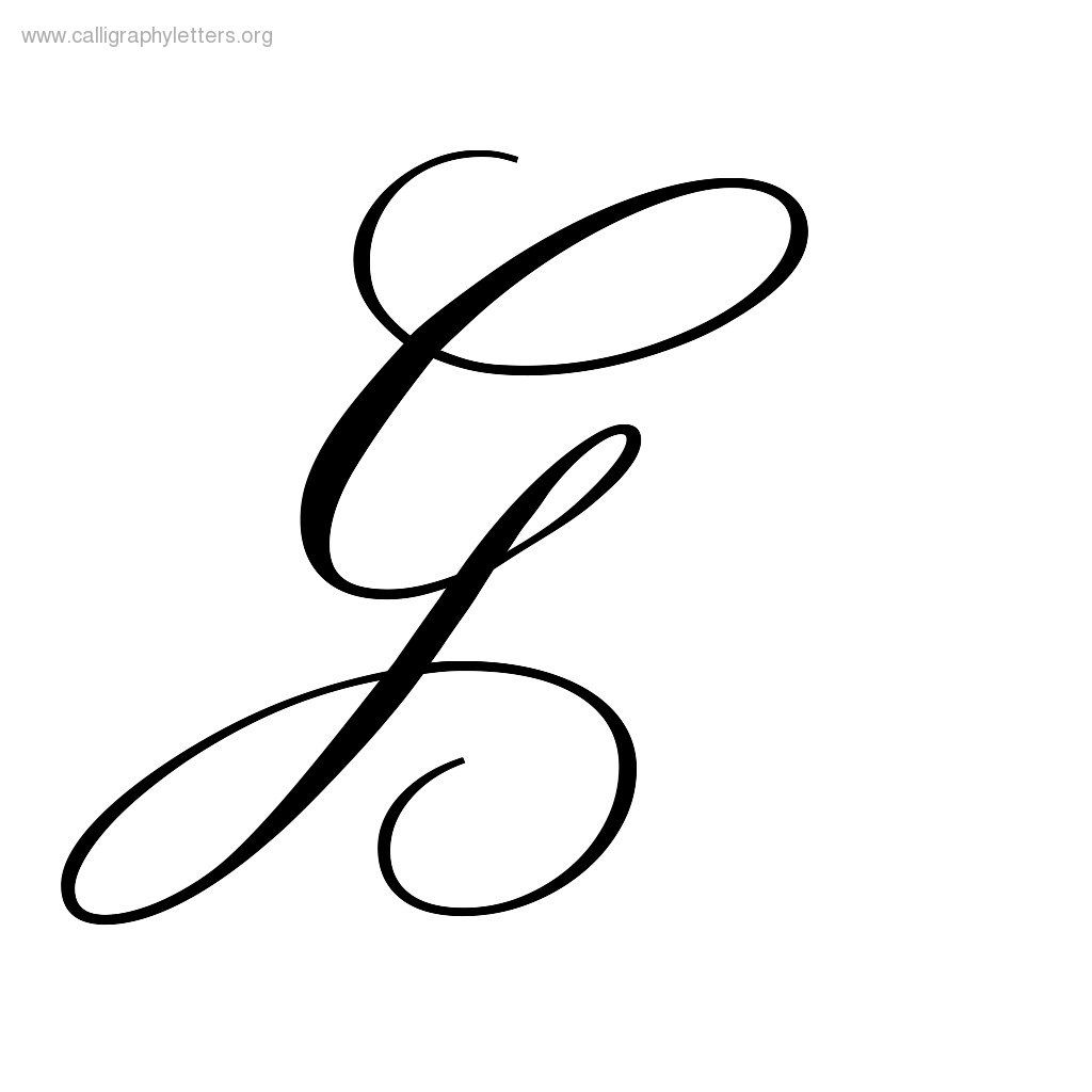 G Calligraphy Google Search Hand Lettering Pinterest
