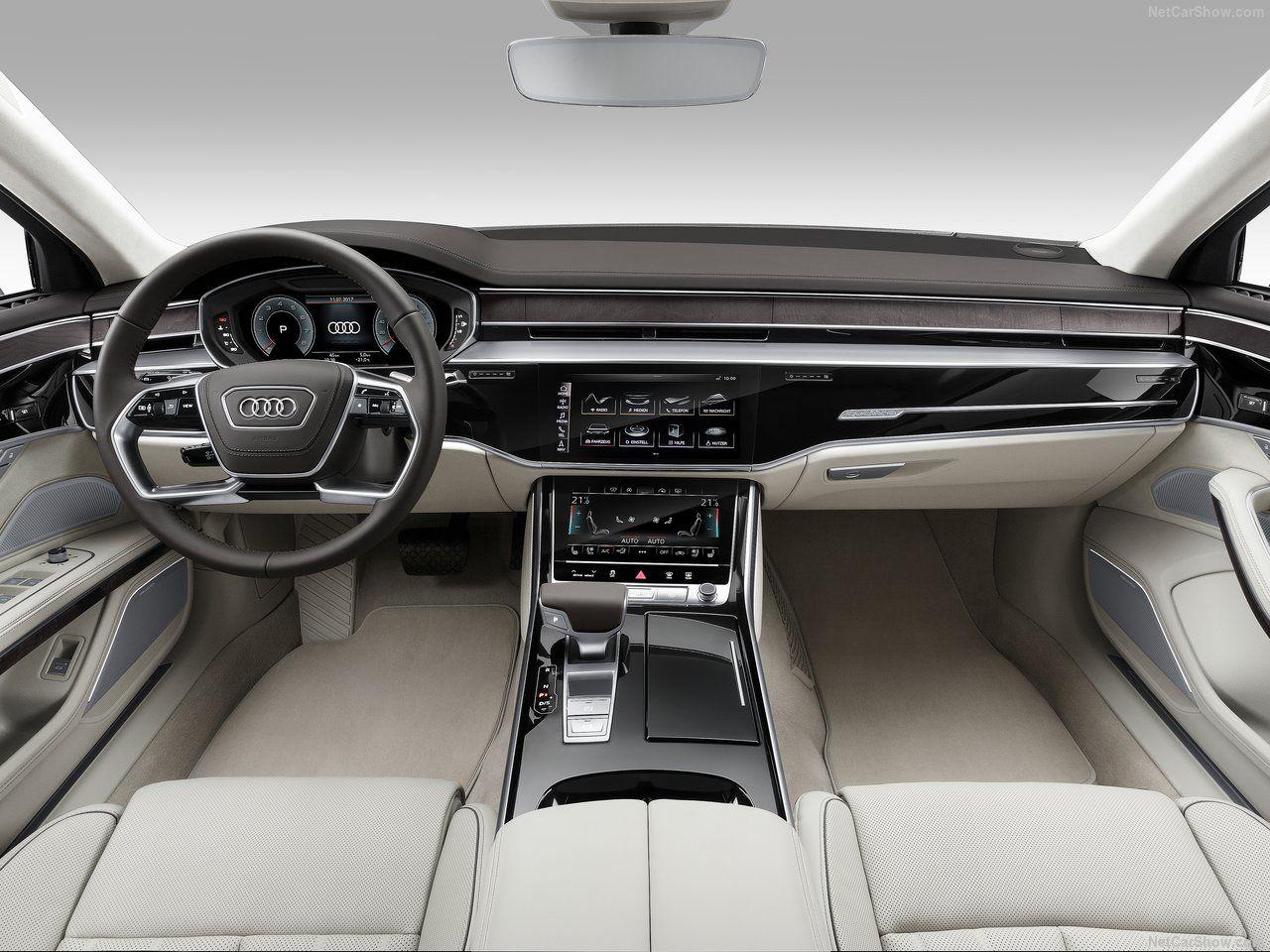 Audi A8 L 2018 Audi A8 Audi Interior De Carros De Luxo