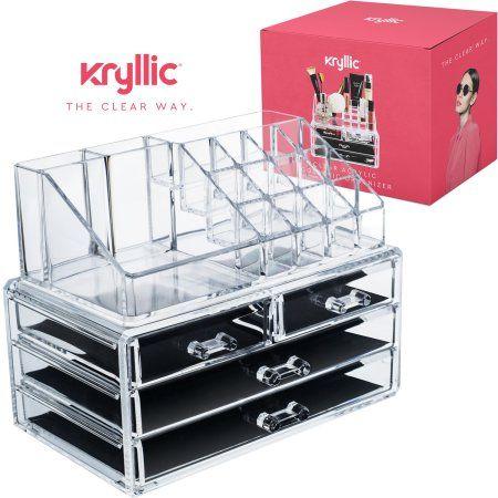 Beauty Makeup Organization Makeup Storage Box Clear Makeup