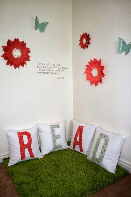 Rincones de lectura para niños Ideas para, Room and Bedrooms