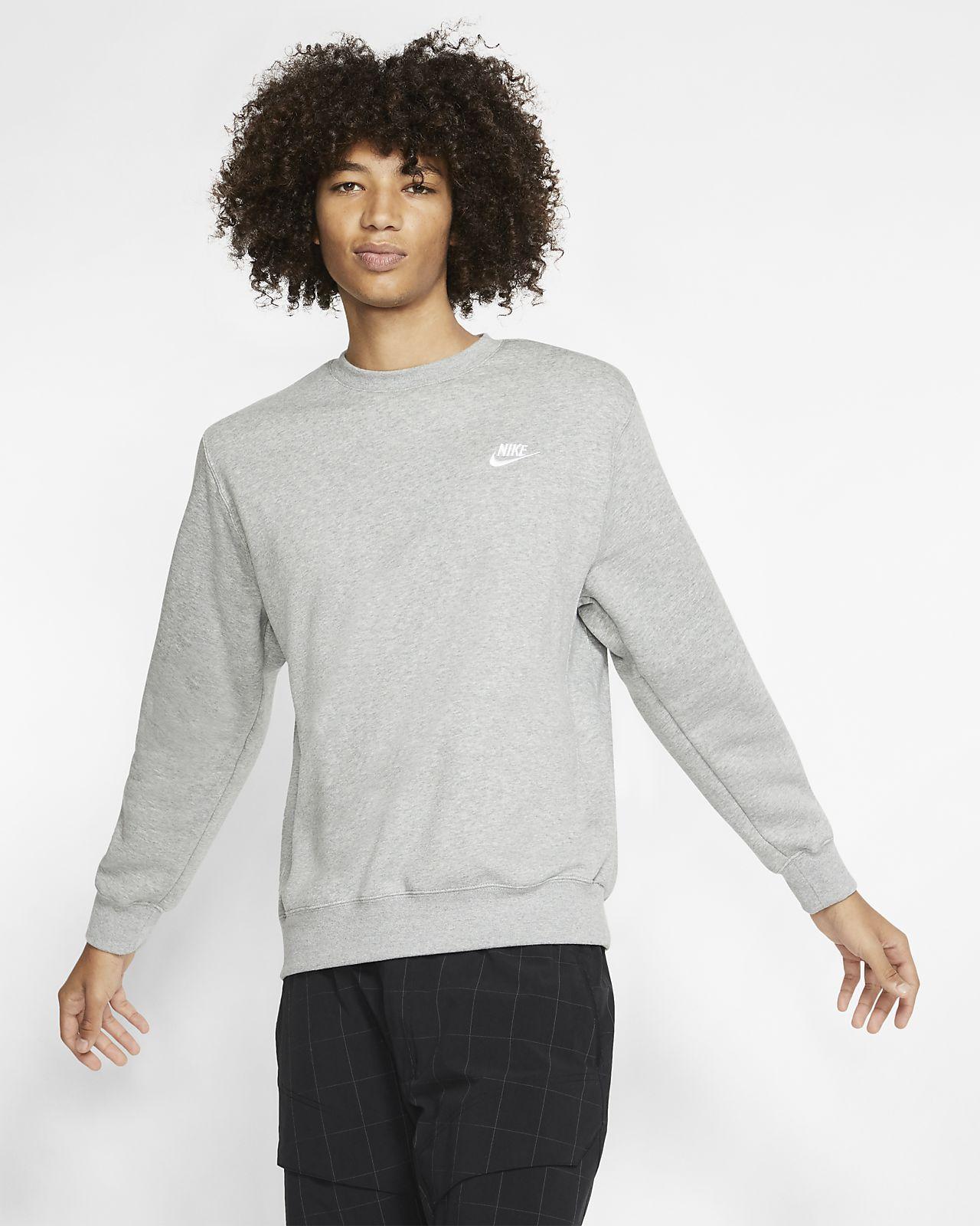 Nike Sportswear Club Fleece Crew Nike Com Nike Sportswear Fleece Shirt Sportswear [ 1600 x 1280 Pixel ]