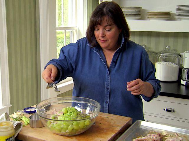 Chicken Salad Veronique Recipe Tapas Pinterest Salad Food