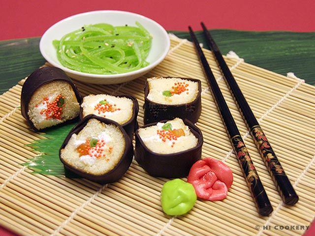 Dessert Sushi  :)