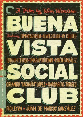 Buena Vista Social Club Criterion Collection Dvd 1999 Best Buy The Criterion Collection Social Club Good Movies To Watch