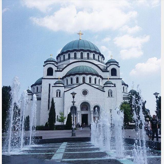 Temple of Saint Sava, Belgrade, Serbia