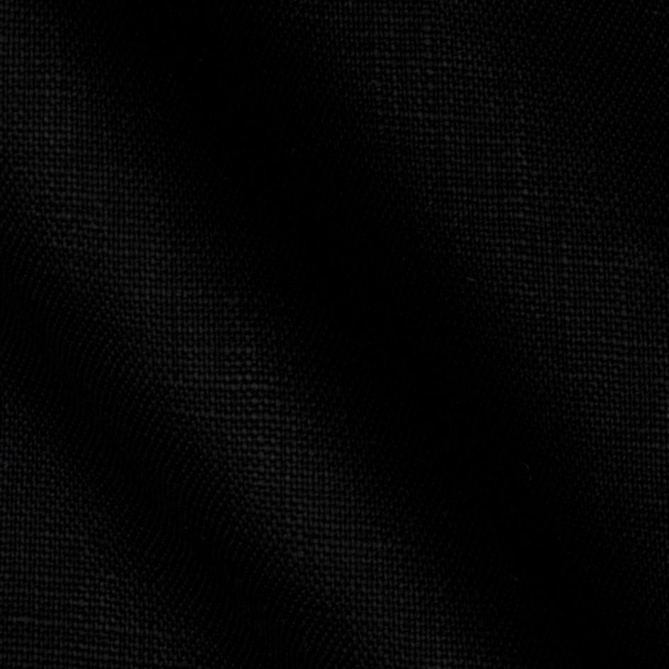 Kaufman Waterford Linen Black Pure Black Wallpaper Waterford Linens Black Fabric