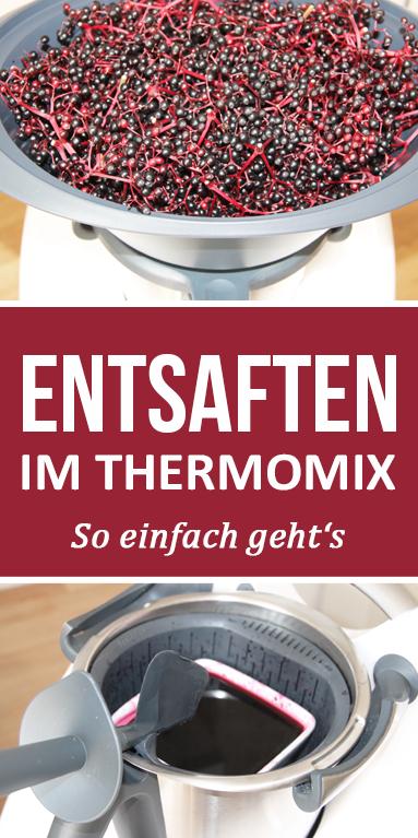 Entsaften im Thermomix - so einfach gehts.