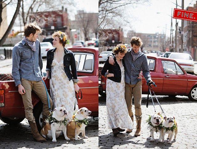 bulldog wedding photos