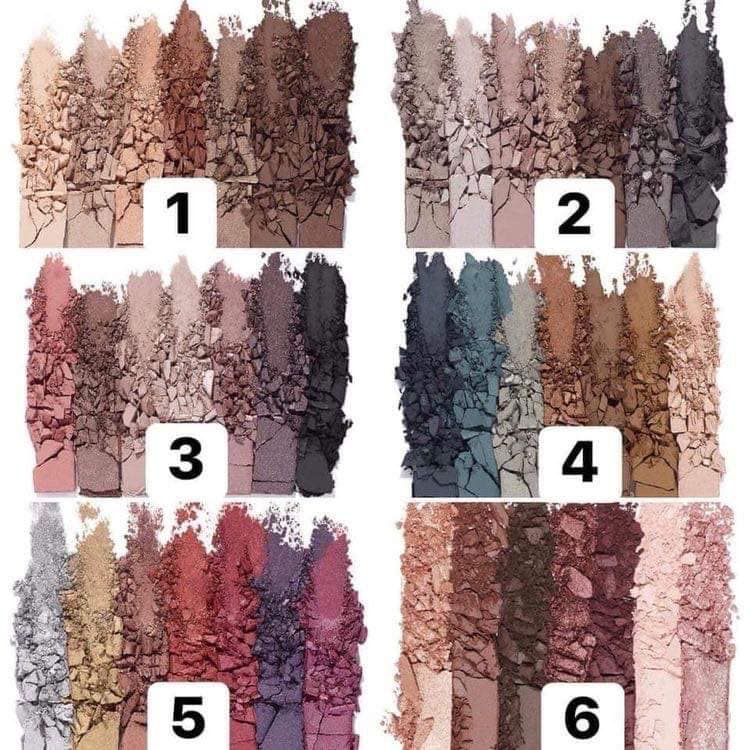 Younique's MOONSTRUCK Palettes 1 thru 6 Younique eyeshadow