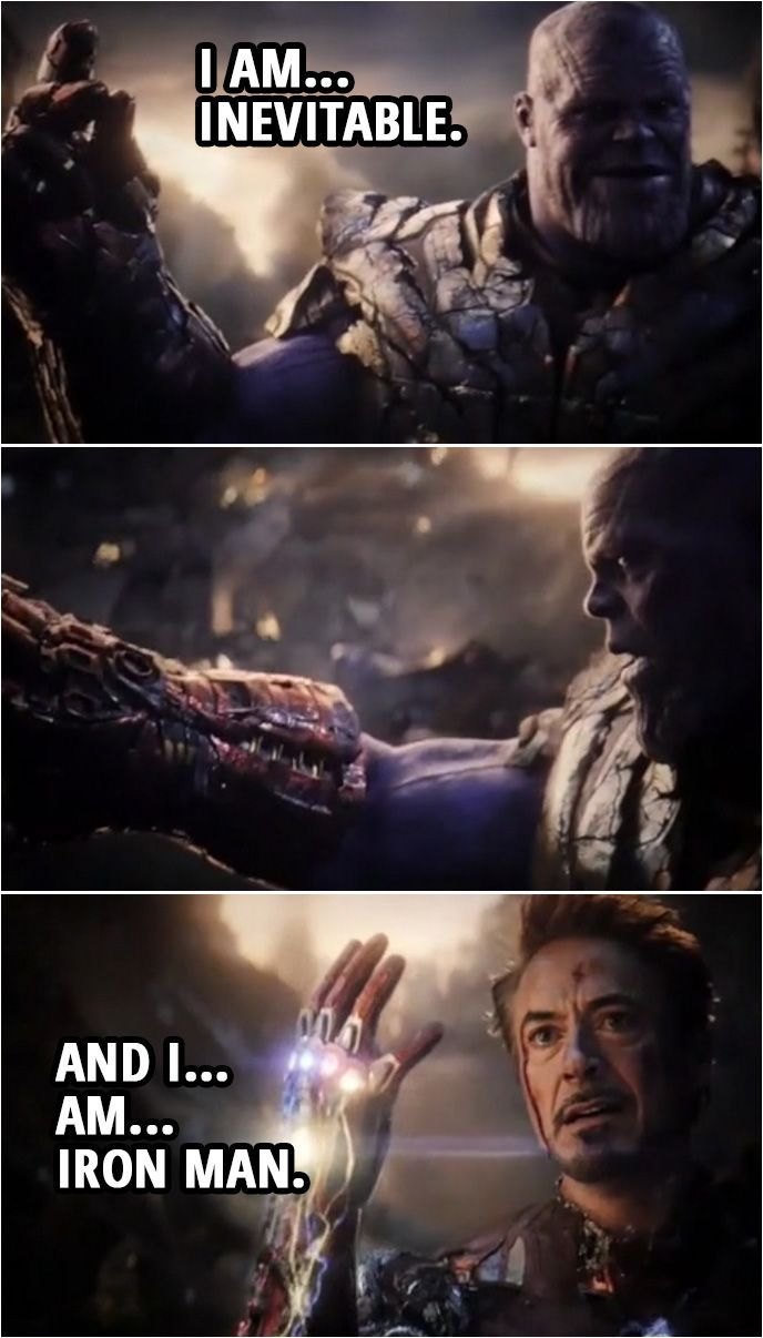 Thanos I Am Inevitable Meme : thanos, inevitable, Funny, Viral, Animated, Times, Quotes,, Marvel, Films