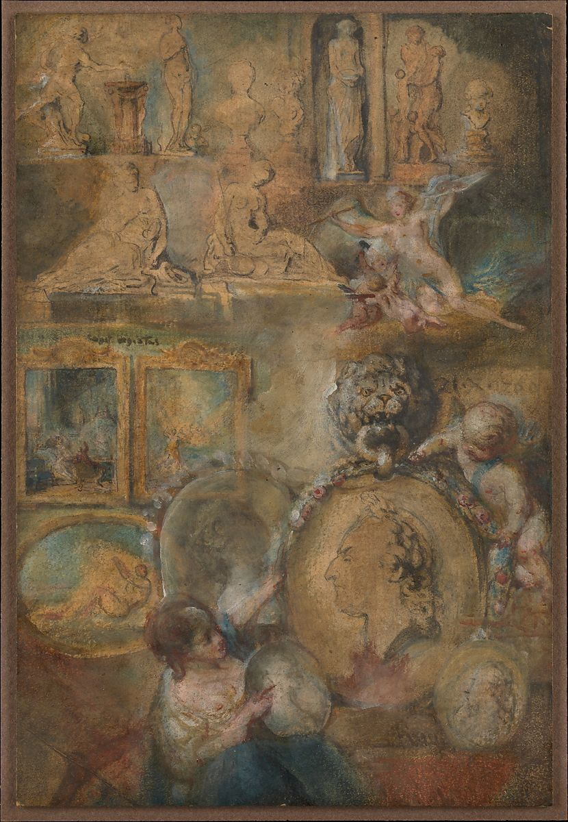 Gabriel de saintaubin allegory of louis xv as patron of