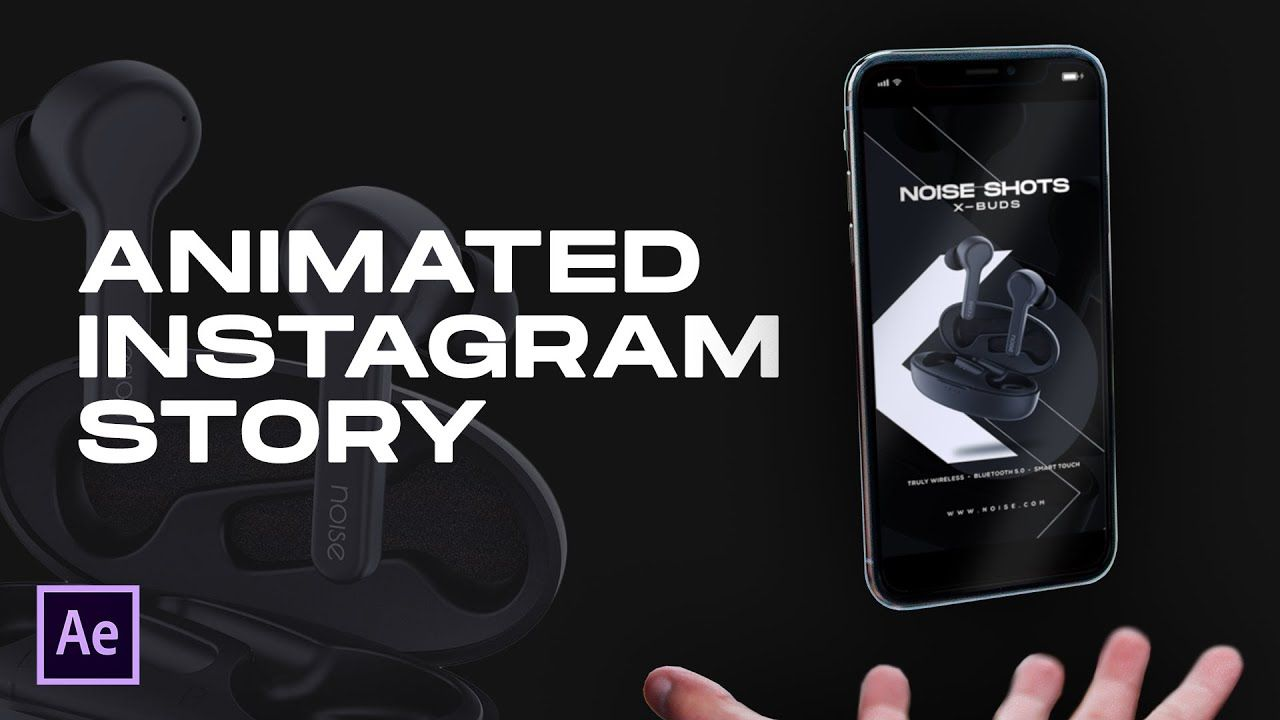 Instagram Story Animation in After Effects Complete