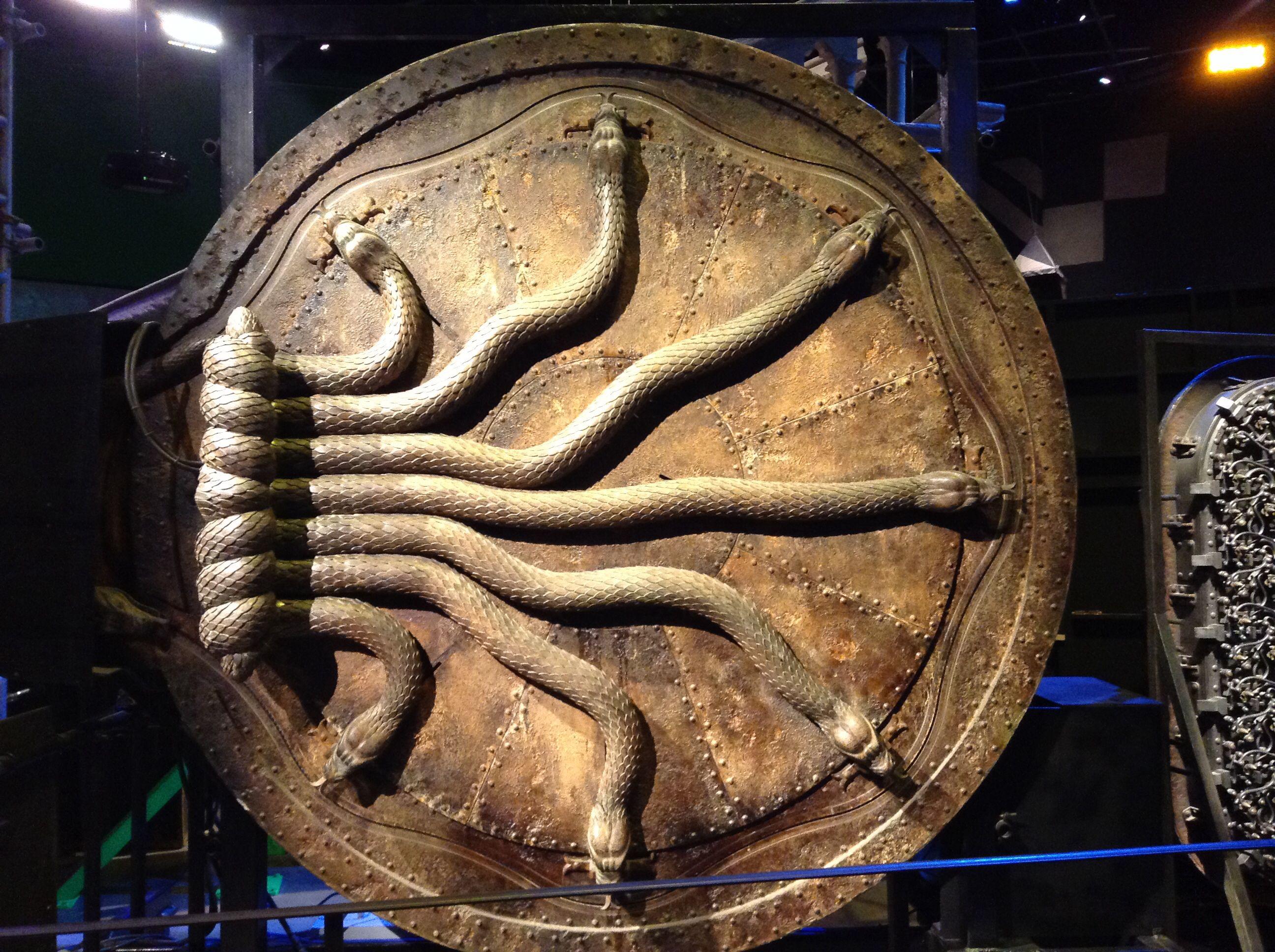 Door to The Chamber of Secrets. Warner brothers harry