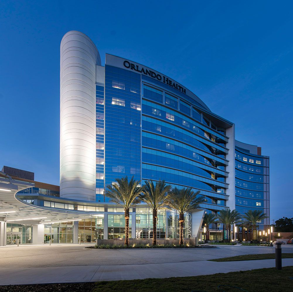 """""""Orlando Regional Medical Center Bed Tower Expansion"""" by"""