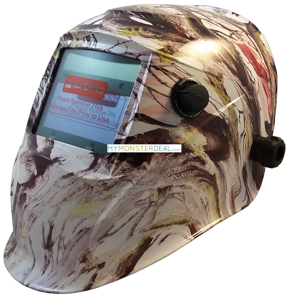 Hydro Dipped graphic Safety Hard Hats. Show a little of