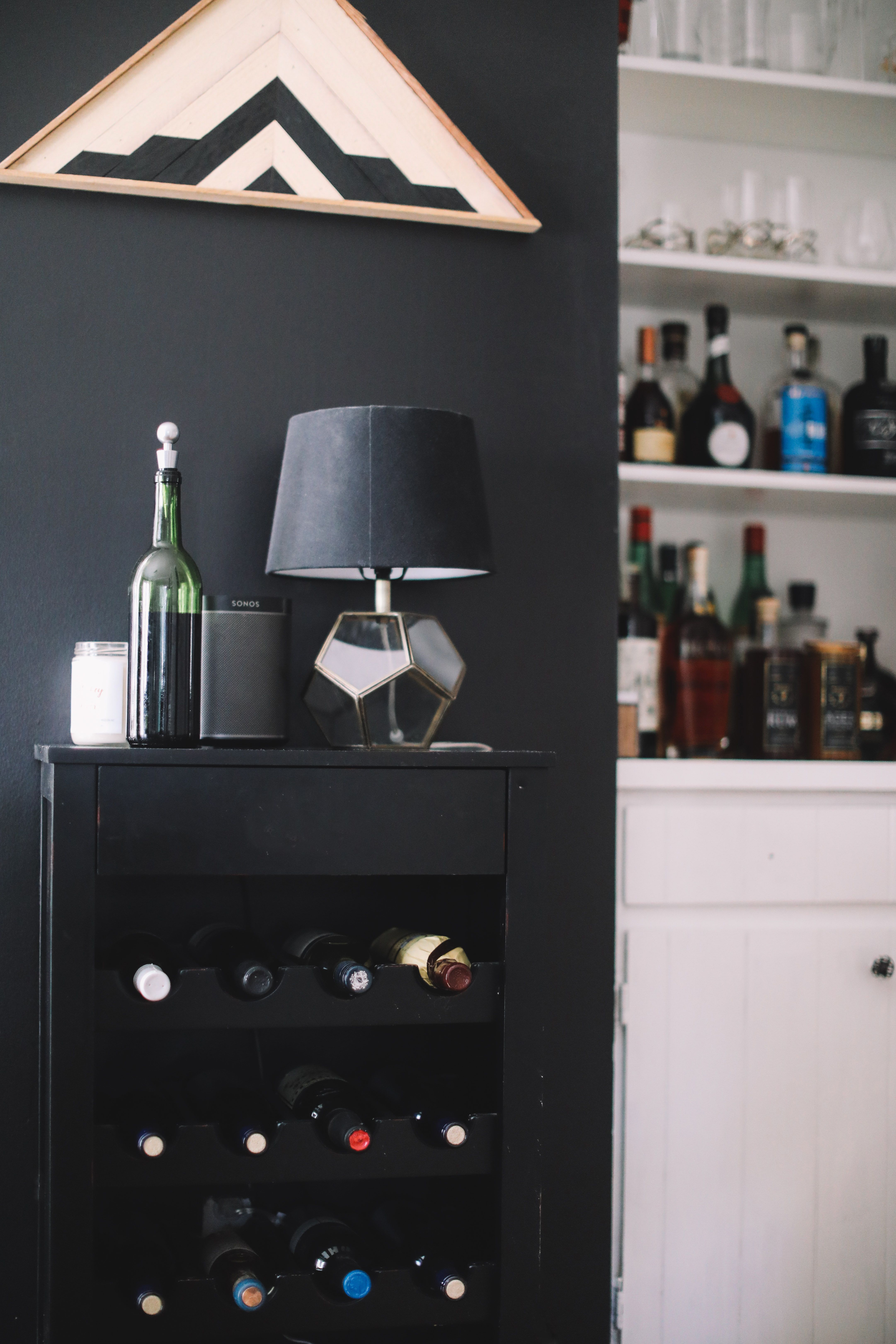 A Minimalist Home A Lesson In Enjoying The Process Home Bar