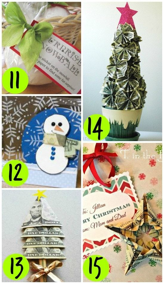65 Ways to Give Money as a Gift - From | gifts galore | Pinterest ...