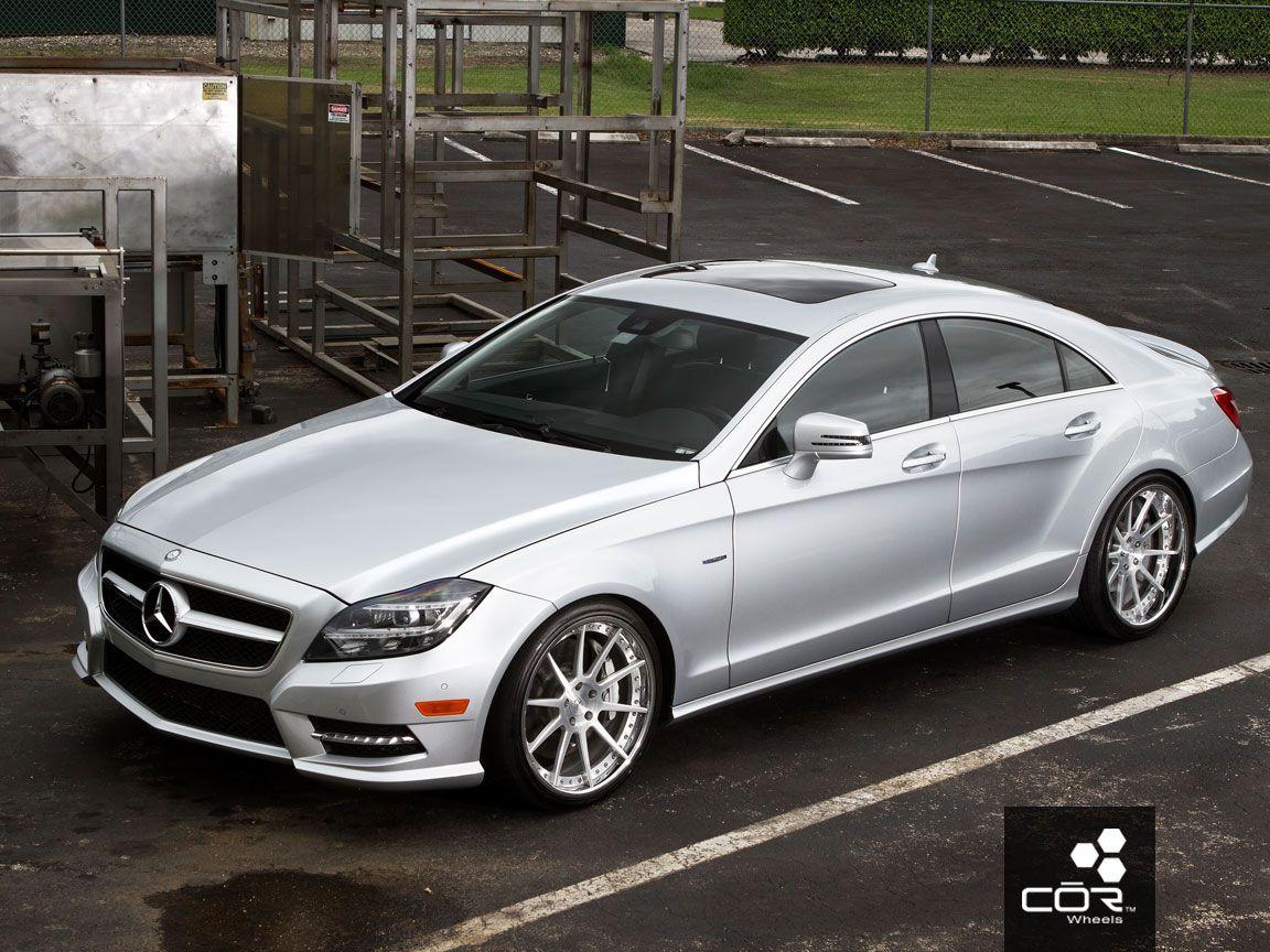 2012 Mercedes-Benz CLS W/ COR Cipher Concave Wheels