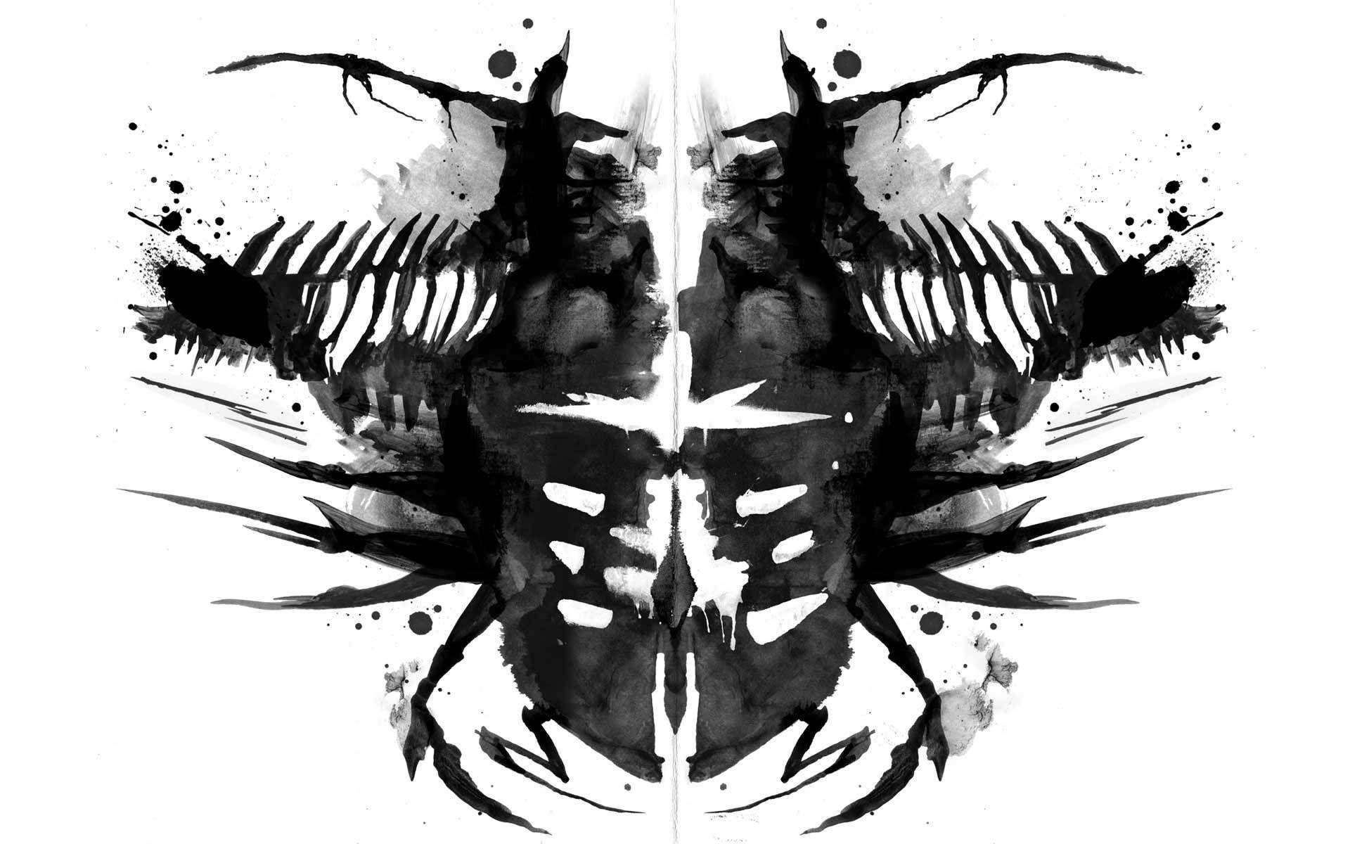 Download Beetle Rorschach Wallpaper Dead Space Character Art Rorschach